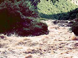 Приток реки Баксан